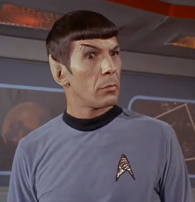 spock raising eyebrow